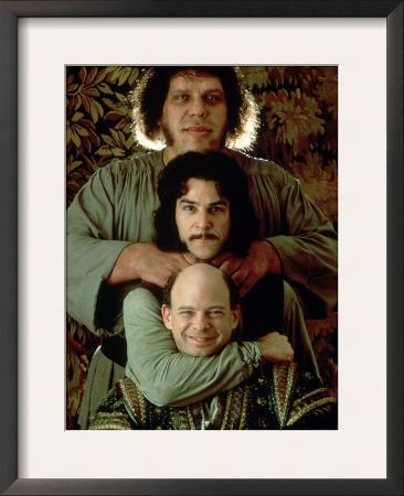 Vizzini, Inigo Montoya, and Fezzik