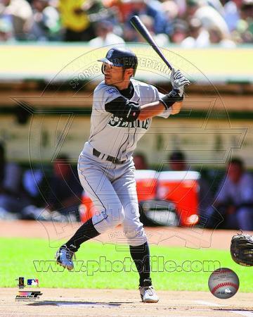 Ichiro Suzuki 2011 Action