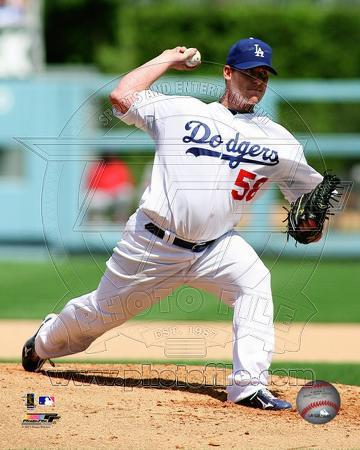 Chad Billingsley 2011 Action