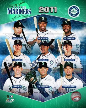 2011 Seattle Mariners Team Composite