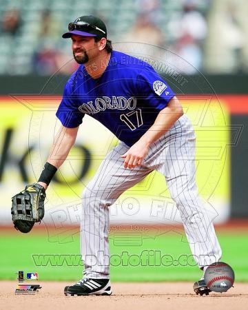 Todd Helton 2011 Action