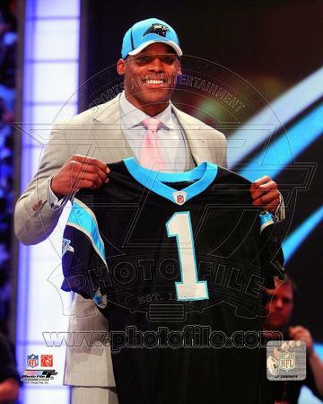 Cam Newton 2011 NFL Draft #1 Pick