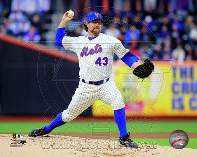 R.A. Dickey 2011 Action