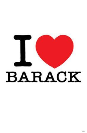 I Love Barack