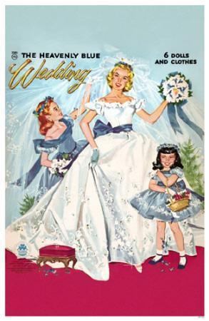 Heavenly Blue Wedding The