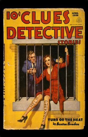 April 1938 -Clues Detective -Turn on the Heat
