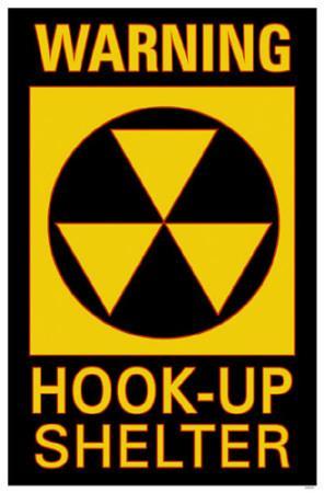 Warning Hook-Up Shelter