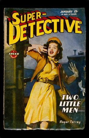 January 1946 -Super Detective -Two Little Men