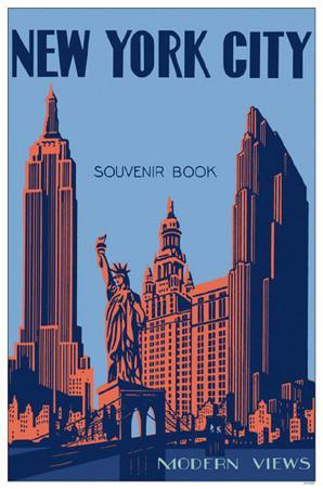New York City Souvenir Book