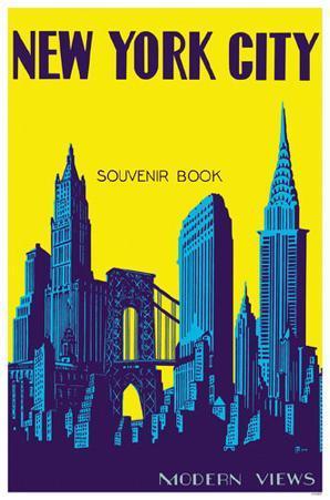 New York City Souvenir Book Brooklyn Bridge