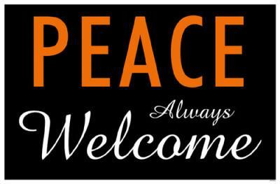 Peace Always Welcome