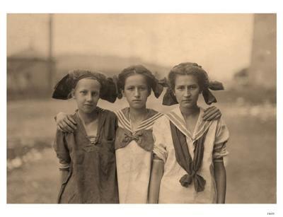 3 Girls with Kerchiefs