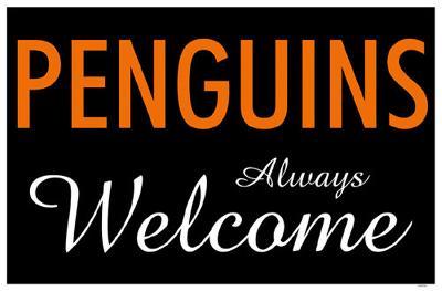 Penguins Always Welcome