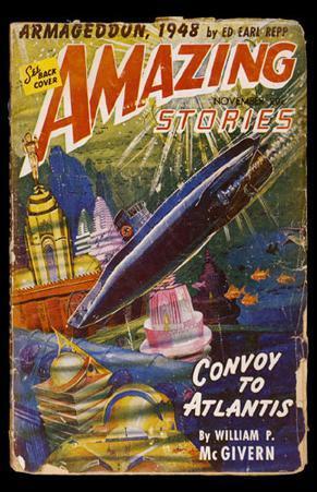 November 1941 -Amazing Stories -Convoy to Atlantis