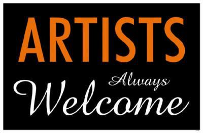 Artists Always Welcome