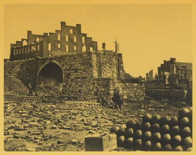Ruins of Arsenal Richmond Virginia