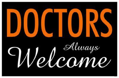 Doctors Always Welcome