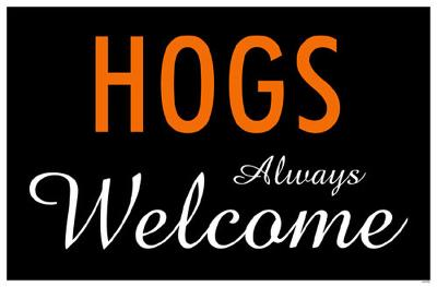 Hogs Always Welcome