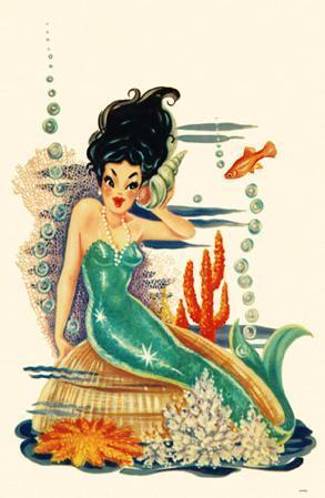 Mermaid on Shell