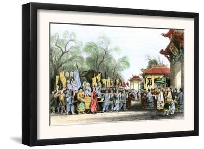 Marco Polo Welcomed at the Court of Kublai Khan in China, c.1200