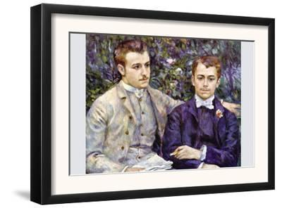 Portrait of Charles and George