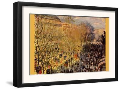 Boulevard of Capucines In Paris