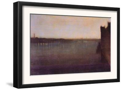 Nocturne In Gray and Gold, Westminster Bridge