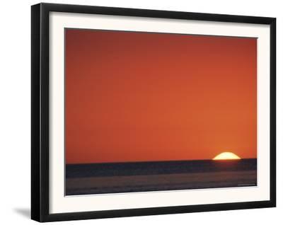 Sun Setting Over Gulf of Mexico, Florida, USA