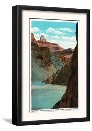 Grand Canyon Nat'l Park, Arizona - View of Zoroaster from the Colorado River, c.1932