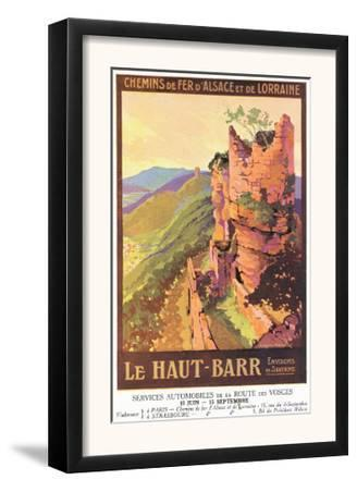 Saverne, France - Visit the High Bar, Alsace and Lorraine Railway Postcard, c.1920
