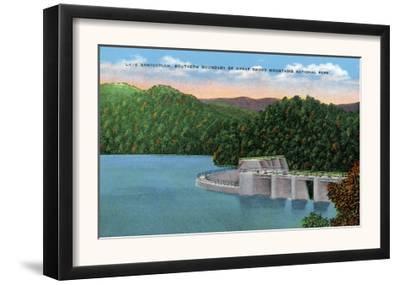 North Carolina - View of Lake Santeetlah Near Great Smoky Mts. Nat'l Park Southern Boundary, c.1944