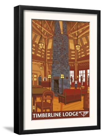 Timberline Lodge Lobby - Mt. Hood, Oregon, c.2009