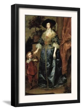 Portrait of Henrietta Maria with a Dwarf