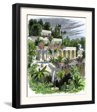 Hanging Gardens of Ancient Babylon