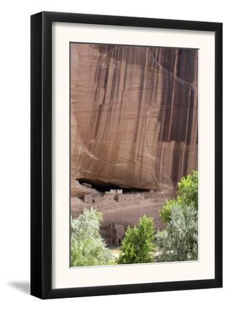 White House, Ruins of an Anasazi Ancestral Puebloan Cliff-Dwelling, Canyon De Chelly, Arizona