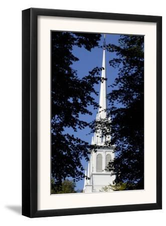 Steeple of the Old North Church, Where Lanterns Signalled Paul Revere, Boston, Massachusetts