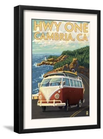 Cambria, California - Highway One Coast, c.2009