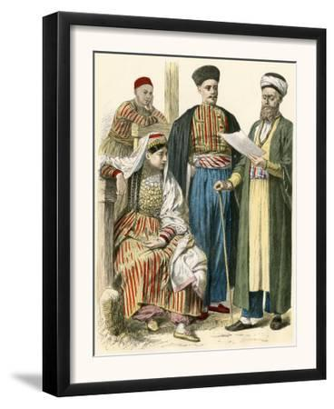 Russian Tartars from the Crimea in their Native Clothing