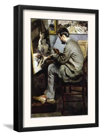 The Painter In The Studio of Bazille