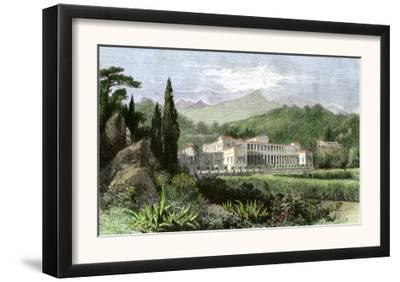 Villa of Pliny the Younger, Ancient Rome, c.100 Ad