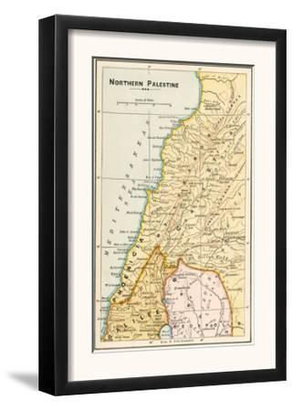 Map of Northern Palestine in Ancient Times
