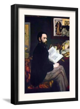 Portrait of Emile Zola