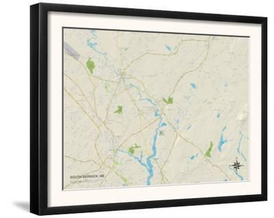 Political Map of South Berwick, ME