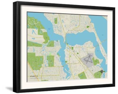 Political Map of Stuart, FL