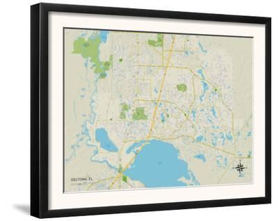 Political Map of Deltona, FL