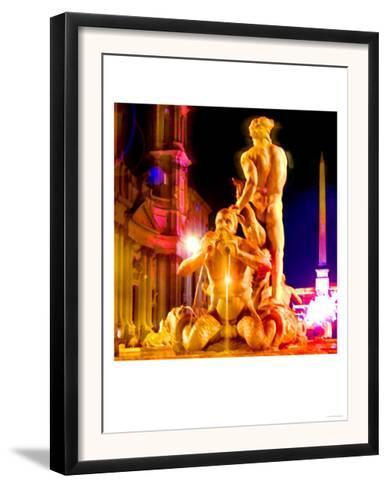 Piazza Navona Night, Rome