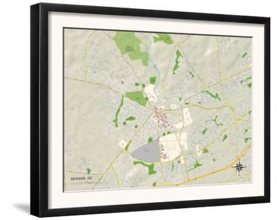 Political Map of Newark, DE