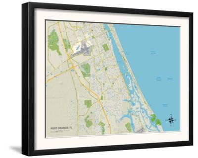 Political Map of Port Orange, FL