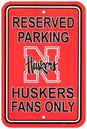 University of Nebraska Parking Sign