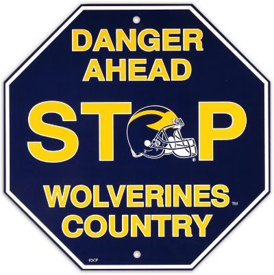 University of Michigan Stop Sign